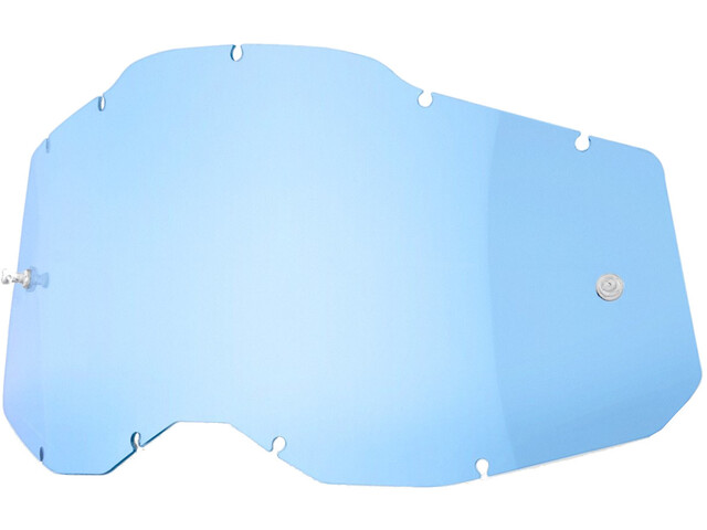 100% Anti-Fog Replacement Lenses Gen2, blue/clear